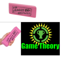 its-time-for-some-game-theory: FOR  REALLY BIG  MISTAKES  Game Theory