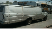 Giraffe, Scheme, and Van: For Sale: Totally Normal Van NOT Used In Giraffe Kidnapping Scheme