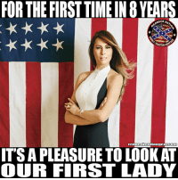 America, Beer, and Guns: FOR THE FIRSTTIMEIN 8 YEARS  NECK NAT  ITS A PLEASURE TO LOOKAT  OUR FIRST LADY Like if you're a proud American ____________________________________ 🔥SHIRTS🔥HATS🔥STICKERS🔥 🚨SHOP AT🚨LINK IN PROFILE🚨 💻REDNECKNATIOGEAR.COM💻 📲ALSO FOLLOW📲 👍🏼@bobbyrednecknation👍🏼 👍🏼2nd page @the_redneck_army 👍🏼3rd page @diptalk👍🏼 👍🏼4th page @dieselnation ____________________________________ rednecknation rhec southern south trucks guns beer country dixie merica america redneck confederate ford chevy dodge realtree mossyoak keepitflyin hunting gun 2ndamendment patriot rednecklife countrygirls confederateflag