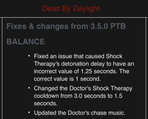 For those that didn't like PTB Doctor's chase music, they updated it again.: For those that didn't like PTB Doctor's chase music, they updated it again.