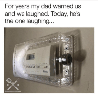 Dad, Today, and One: For years my dad warned us  and we laughed. Today, he's  the one laughing  OCLASSICDADMOVES Somebody pushed the limits.. 😳😂 https://t.co/Y0icdx5kqH
