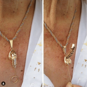 For your amusement I present - boner necklace.: For your amusement I present - boner necklace.
