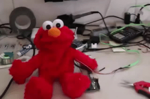 Elmo, Target, and Tumblr: forbidden-alchemist: rosalindfranklinsnotes:   Captions: Videoer: Speak, Comrade Elmo. Elmo: [opens mouth as the national anthem of the ussr begins to play and the videoer begins to laugh]   @fuck-ler @socialistexan