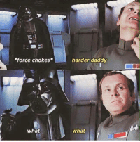 Darth Daddy: *force chokes  what  harder daddy  what Darth Daddy