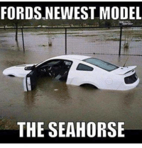 FORDS NEWEST MODEL  THE SEAHORSE