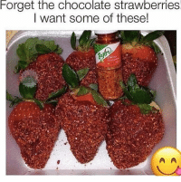 Memes, Chocolate, and 🤖: Forget  the  chocolate  strawberries  l want some of these! I want this 😜