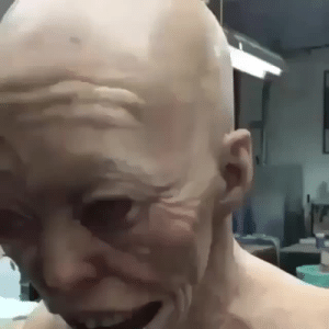 Reddit, Tumblr, and Wtf: forkiple: sixpenceee:  Horror animatronic viau/gucciclit  THANKS I HATE IT