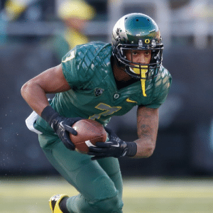 Former Oregon WR Keanon Lowe wrestled a gunman to the ground at a Portland high school, per The Oregonian: Former Oregon WR Keanon Lowe wrestled a gunman to the ground at a Portland high school, per The Oregonian