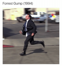 RUN MICHAEL SCOTT RUN: Forrest Gump (1994) RUN MICHAEL SCOTT RUN