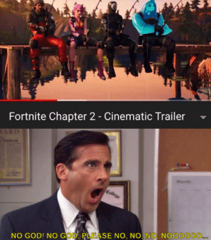 College, Funny, and God: Fortnite Chapter 2 - Cinematic Trailer  ARD  College  NO GOD! NO GOD PLEASE NO, NO. NO. NOOOOOO.. Excuse me wtf?