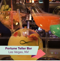 Las Vegas, Las Vegas, and Relatable: Fortune Teller Bar  Las Vegas, NV your feed isn't complete until you follow 👉 @bringme 🌎