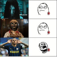 Memes, Ac Milan, and 🤖: fOTrollFootball  899  nald/Par REX/Shutterstock  899  RELL  899 AC Milan fans biggest nightmare https://t.co/Iikrhd4qH3