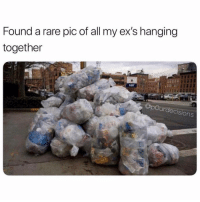 Cute, Ex's, and Girl Memes: Found a rare pic of all my ex's hanging  together  OpOurdecisions Awww what a cute pic @p0urdecisions