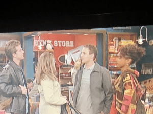 Found Hugsy (sans vest and goggles) in Boy Meets World: Found Hugsy (sans vest and goggles) in Boy Meets World