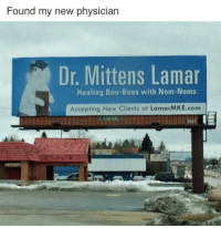 nom noms: Found my new physician  Dr. Mittens Lamar  Healing Boo-Boos with Nom-Noms  Accepting New Clients at LamarMKE.com
