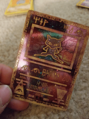 Ancient, Old, and Mew: Found my old Ancient Mew promo card.