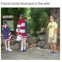 Funny, Meme, and Wild: Found some Muricans in the wild (@ladbible) is the funniest IG page of 2017!