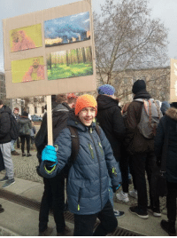 Dude, Berlin, and Coal: Found this dude on a Demonstration against Coal in Berlin