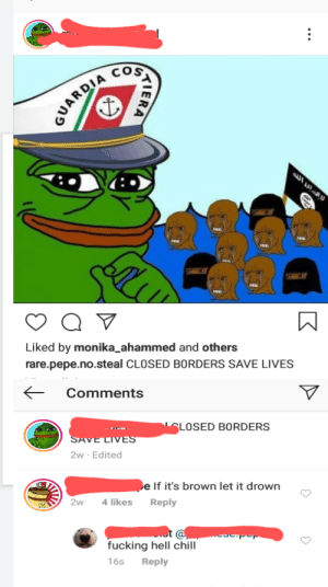 """Found this dudes far right instagram """"meme"""" page after he ranted about the """"big bad leftist Bill Gates"""" trying to vaccinate us. I didn't even scroll down far to reach this horrific gem,: Found this dudes far right instagram """"meme"""" page after he ranted about the """"big bad leftist Bill Gates"""" trying to vaccinate us. I didn't even scroll down far to reach this horrific gem,"""