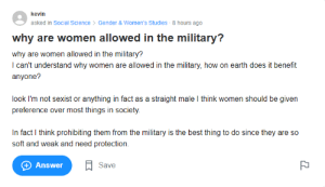 Found this dumbass on Yahoo Answers: Found this dumbass on Yahoo Answers