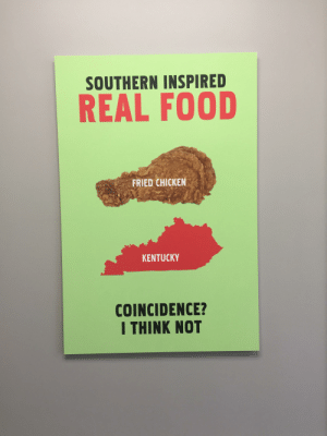 Found this in my local KFC: Found this in my local KFC