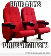 FOUR ARMS  THREE RESTS  MORE FUN DAMNLOL COM Biggest Design Flaw In History http://www.damnlol.com/biggest-design-flaw-in-history-26982.html?ref=fbp