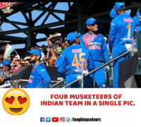 #IndVEng: FOUR MUSKETEERS OF  INDIAN TEAM IN A SINGLE PIC. #IndVEng