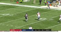 Nfl, Bears, and Falcons: FOX  2  10 4TH 12:02 :40 3RD&3  FALCONS  13 BEARS Austin Hooper stiff armed that man back into the 3rd grade  https://t.co/Rt1FaV3ZLq