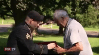 Harry Snyder, a 96-year-old military veteran, and D-Day survivor, is battling cancer. Harry likely does not have long to live. One of his wishes was to hear bagpipes before they are used at his funeral. This week, that wish came true. Thank you for your service, Harry. 🇺🇸❤️🙏: FOX 29 Harry Snyder, a 96-year-old military veteran, and D-Day survivor, is battling cancer. Harry likely does not have long to live. One of his wishes was to hear bagpipes before they are used at his funeral. This week, that wish came true. Thank you for your service, Harry. 🇺🇸❤️🙏
