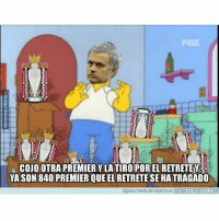 Memes, Premier League, and Manchester United: FOX  COJO OTRA PREMIERY LA TIROPOR EL RETRETEY  YA SON 840 PREMIER QUE EL RETRETE SE HATRAGADO  Siguete riendo del deporte en MEMEDEPORTES.COM Y así lentamente se escapa otra Premier League al Manchester United Mourinho PremierLeague Spurs Totenham United memedeportes https:-www.memedeportes.com-futbol-y-asi-lentamente-se-escapa-otra-premier-league-al-manchester-united