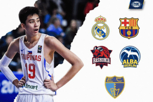 Kai Sotto announces he's leaving Philippines to pursue NBA dream: FOX  FCB  IPINAS  BASHONIAİ ALBA  BERLIN  TORIA GASTE  20  Smart Kai Sotto announces he's leaving Philippines to pursue NBA dream