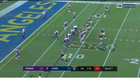 """Memes, Rams, and Vikings: """"  FOX  İ, NETWORK  2ND & 7  1lo  2  VIKINGS 11 7 RAMS  3-0 0 1st 2:01 04 2nd & 7 Goff ➡️ Gurley... TOUCHDOWN.  The #LARams are on the board! #MINvsLAR  📺: @nflnetwork + @NFLonFOX 📱+💻: https://t.co/DJUityQHC9 https://t.co/Us5OhsRVfh"""