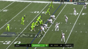 .@AaronDonald97 coming through 😳😳😳  📺: #LARvsSEA on FOX  📱: https://t.co/pfuFFe7HxS  Learn how to watch: https://t.co/I6INVckndX https://t.co/QGGcy4OjPo: FOX NETWORK  16  2ND& 13  21  3  0  SEAHAWKS  1st 10:22  08  2nd & 13  RAMS  3-1  3-1 .@AaronDonald97 coming through 😳😳😳  📺: #LARvsSEA on FOX  📱: https://t.co/pfuFFe7HxS  Learn how to watch: https://t.co/I6INVckndX https://t.co/QGGcy4OjPo