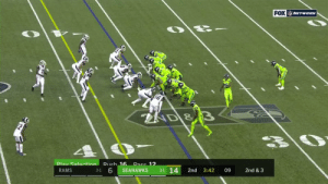 .@DangeRussWilson couldn't have dropped it in more perfectly.  And @Will_Diss with the unreal over the shoulder grab! #Seahawks  📺: #LARvsSEA on FOX  📱: https://t.co/pfuFFe7HxS   Learn how to watch: https://t.co/I6INVckndX https://t.co/ArGBVAlWvz: FOX NETwoRK  AD &  Pass 12  Play Selection Rueh 16  3-1 14  3-1 6  RAMS  SEAHAWKS  2nd  3:42  09  2nd & 3 .@DangeRussWilson couldn't have dropped it in more perfectly.  And @Will_Diss with the unreal over the shoulder grab! #Seahawks  📺: #LARvsSEA on FOX  📱: https://t.co/pfuFFe7HxS   Learn how to watch: https://t.co/I6INVckndX https://t.co/ArGBVAlWvz