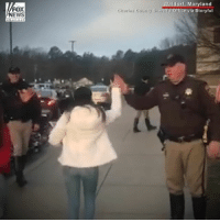 Memes, News, and Police: FOX  NEWS  dorf, Maryland  ffice via Storyful  e hanne HEARTWARMING: Students arriving at Westlake High School were recently greeted by police officers ready to give them a hug or high five. The officers wanted to show their support after the recent school shooting in Parkland, Florida.