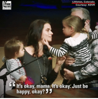 """Church, Memes, and News: FOX  NEWS  Littleton, Colorado  Courtesy: KDVR  It's okay, mama. It's okay. Just be  happy, okay? """" Mourners packed a Colorado church to bid a heartbreaking farewell to a sheriff's deputy who was killed in the line of duty on New Year's Eve."""