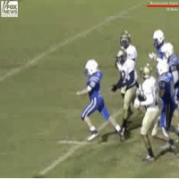 A high school senior with cerebral palsy scored a touchdown with the help of both his teammates and opponents.: FOX  NEWS  Mechanicsville, Virginia  KG Media A high school senior with cerebral palsy scored a touchdown with the help of both his teammates and opponents.