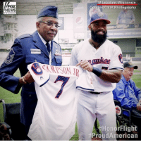 A group of veterans with @starsandstripeshonorflight were invited to enjoy a Milwaukee @brewers game, but they didn't expect to see their own names on the players' jerseys during warm-ups. After practice, players presented the jerseys to the veterans in front of the crowd. ProudAmerican HonorFlight: FOX  NEWS  Milwaukee, Wisconsin  P Photography  IPSONR  HonorFlight  A group of veterans with @starsandstripeshonorflight were invited to enjoy a Milwaukee @brewers game, but they didn't expect to see their own names on the players' jerseys during warm-ups. After practice, players presented the jerseys to the veterans in front of the crowd. ProudAmerican HonorFlight