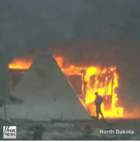 Fire, Memes, and Protest: FOX  NEWS  North Dakota Dakota Access pipeline protesters set fire to their camp ahead of today's deadline to evacuate the area or face arrest. NorthDakota