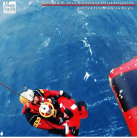 WATCH: Dramatic rescue of fishermen who were forced to abandon ship.: FOX  NEWS  Northeast of St. John's, Newfoundland and Labrador,canada  oint Task Force Atlantic via Storyful WATCH: Dramatic rescue of fishermen who were forced to abandon ship.