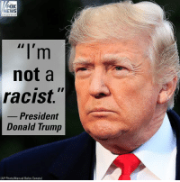 President Donald Trump denied claims that he's a racist following allegations of a vulgar comment that lawmakers said he made about Haiti and African countries.: FOX  NEWS  not a  racist.  President  Donald Trump  AP Photo/Manuel Balce Ceneta) President Donald Trump denied claims that he's a racist following allegations of a vulgar comment that lawmakers said he made about Haiti and African countries.