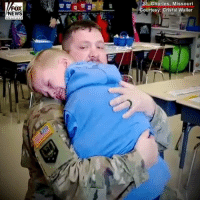 Birthday, Memes, and News: FOX  NEWS  St. Charles, Missouri  Courtesy: Cristal Waller BIRTHDAY SURPRISE: A Missouri soldier gave his son a special birthday present when he returned home early and surprised the boy at school.