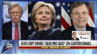 """Attempted bribery is just as much a crime as actual bribery. Period.  Patrick J. Kennedy committed a crime while at the U.S. Department of State. Share if you agree!: FOX  NEWS  THE FINAL  DEBATE  DAY  STATE DEPT DENIES """"QUID PROQUO"""" ON CLINTON EMAILS  FOX NEWS ALERT Attempted bribery is just as much a crime as actual bribery. Period.  Patrick J. Kennedy committed a crime while at the U.S. Department of State. Share if you agree!"""