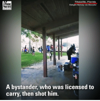 """Anaconda, Fire, and Memes: FOX  NEWS  Titusville, Florida  Dwight Harvey via Storyful  A bystander, who was licensed to  carry, then shot him. """"This could have been so much worse."""" ⠀⠀⠀⠀⠀⠀⠀⠀⠀ An armed bystander was able to stop a gunman who opened fire at a back-to-school event attended by over 100 people in Florida."""