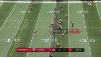 Memes, Nfl, and Falcons: FOX NFL  05  BUCCANEERS 2-2 29 FALCONS 14 34 4th :07 05 3rd & 10  3 This wild final play ALMOST worked. 😱  #TBvsATL https://t.co/LCdGtVfR0K