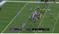 Memes, Nfl, and Best: FOX NFL  1ST &10  VIKINGS  0 PACKERS  0 1st 10:40 10 1st & 10 425 yards passing. 4 touchdowns.  The BEST THROWS by @KirkCousins8 in Week 2! #MINvsGB #Skol https://t.co/Keer7A43b2