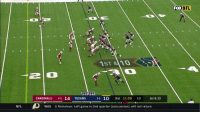 Concussion, Memes, and Nfl: FOX NFL  1ST 810  2  CARDINALS 4-5 14 TEXANS 36 10 3rd 11:09 10 1st & 10  NFL  WAS  SNicholson: Left game in 2nd quarter (concussion), will not return DeAndre Hopkins vs. Patrick Peterson.  The result?  TOUCHDOWN, @HoustonTexans. #Texans https://t.co/vimre3QRoK