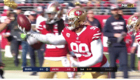 FOX  NFL  2nd & 1  BEARS  104 0 49ERS  4-10 3 2nd 8:49 12 sacks. 17 TFLs. 67 tackles.  Pro Bowler @DeForestBuckner was UNBLOCKABLE.  📺: Pro Bowl | Tomorrow 3pm ET on ESPN + ABC + Disney XD https://t.co/Vdo4JaFtRd