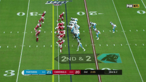HE GONE! 76 yards for Christian McCaffrey! @run__cmc #KeepPounding #CARvsAZ  ?: FOX ?: NFL app // Yahoo Sports app Watch FREE on mobile: https://t.co/qnNxI5gZ8j https://t.co/4OonZ4MAsB: FOX NFL  2ND & 2  3  0-2 21  0-1-1 20  PANTHERS  CARDINALS  3rd  2:05  2nd & 2 HE GONE! 76 yards for Christian McCaffrey! @run__cmc #KeepPounding #CARvsAZ  ?: FOX ?: NFL app // Yahoo Sports app Watch FREE on mobile: https://t.co/qnNxI5gZ8j https://t.co/4OonZ4MAsB