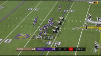Football, Music, and Nfl: FOX  NFL  3&10  SAINTS  24 VIKINGS  23 4th 10 04 3rd &10 The Vikings game-winning touchdown is even better with Titanic music!   https://t.co/JDBoxfcvB0